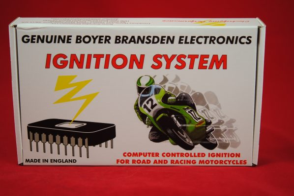 Boyer Bransden Electronic Ignition, replaces all 4CA/6CA. Simple to fit, very reliable.