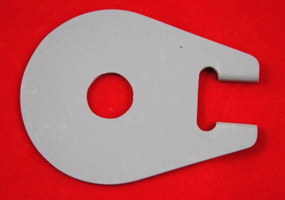 Triumph fork Damper anchor plate, P/U duplex.
