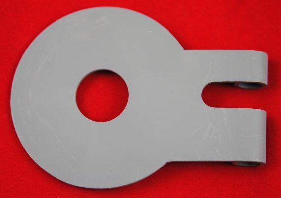 Triumph fork Damper anchor plate, 'C' range, pre '66.