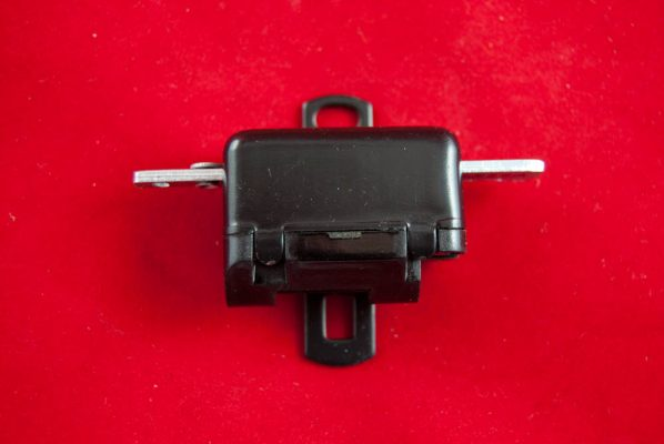 LS32A, Lucas type stop switch for unit models, mounted on chain guard. Pattern item (VERY GOOD QUALITY)
