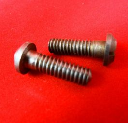 Crankcase mouth screws, pre-unit and unit 650, '68 on. Pre '68 Whitworth, per pair.