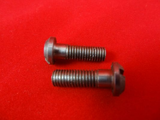 Crankcase mouth screws, unit 650, pre 68 (CEI) - will also suit 'C' range  if shortened by 5/32 inches, per pair