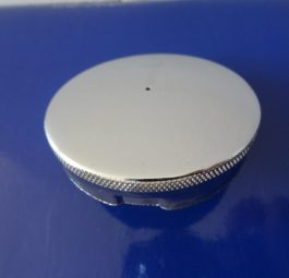 Petrol cap, domed push and turn cap, 2 1/2""