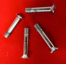 Tank rack screws, chrome, per4.
