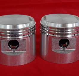 "Pre-unit Thunderbird Iron engine pistons, 0.060"". Pr"