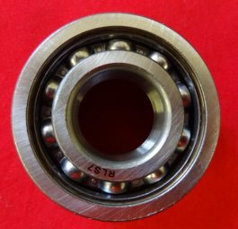 Open ball bearing for Q/D sprocket.