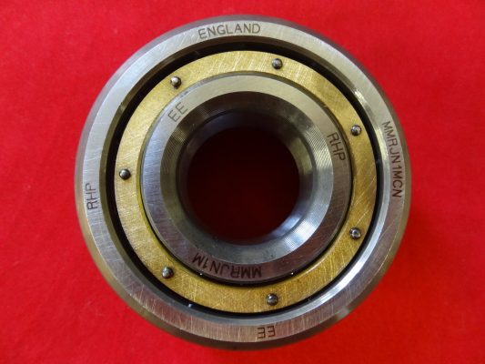 """B"" range timing side (small) bearing, brass caged roller 1"" I/D"