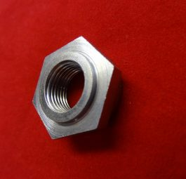 Triumph rigid Brake plate clamp nut
