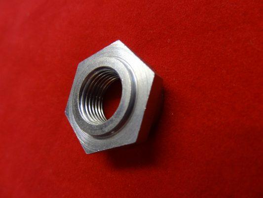 Triumph rigid Brake plate clamp nut