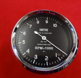 Triumph Smiths rev counter head for use with pre-unit. RC1307/00