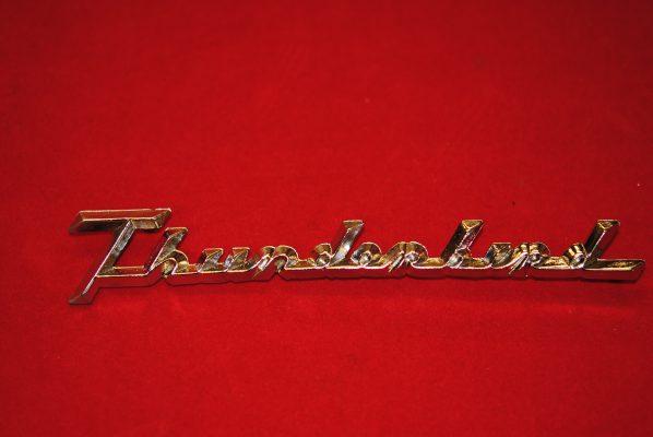 Thunderbird. Each.