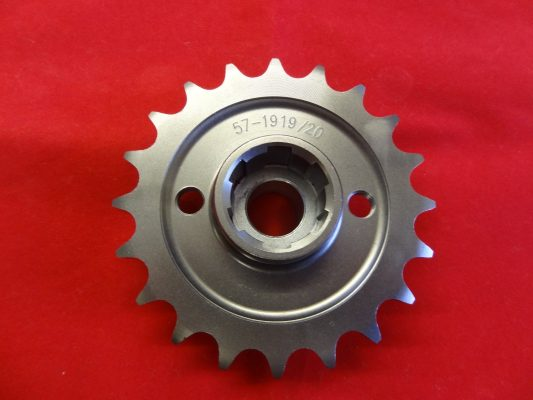 Triumph Gearbox sprocket unit 650, available in: 15/16/17/18/19/20/21/22. teeth.