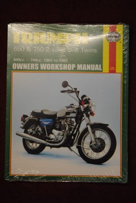 "Haynes Workshop Manual Unit 650/750. ""ZERO VAT"""