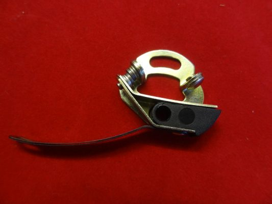 Triumph Magneto Points set for steel backplate (late).