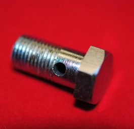 Drain bolt for iron head