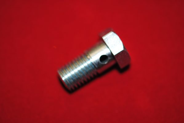 Drain bolt for alloy pre-unit head.