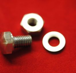 Triumph toolbox Bolt, nut end washer for TB2/3