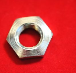Nut for swinging arm bolt, '66 - '70.
