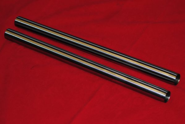 Triumph Fork stanchions (oil in frame). 1971-1973. Pair
