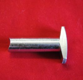 "Triumph Adjuster nut, 2 flats, CEI""  pre-unit 1954-59"