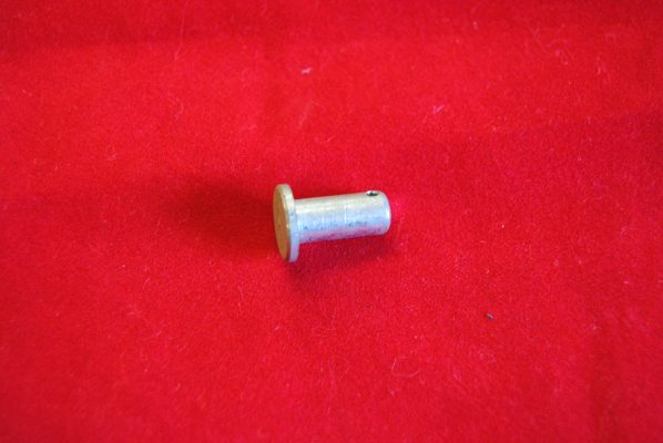 "Triumph Clevis pin 1/4"", for front and rear brake applications."