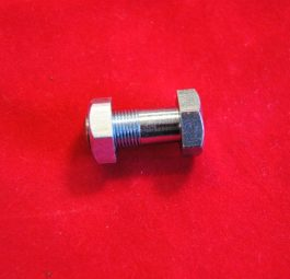 "Triumph Torque stay front bolt and nut, 7/16"" CEI, pre-unit."