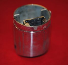 "Amal 376. MONOBLOC 3 1/2"" Throttle slide."