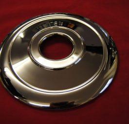 """9"""" diameter plate for 8"""" hub"""