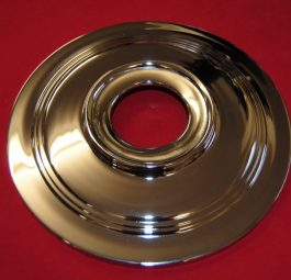 "8"" diameter plate for 7"" flanged hub with twin leading Shoe brake"