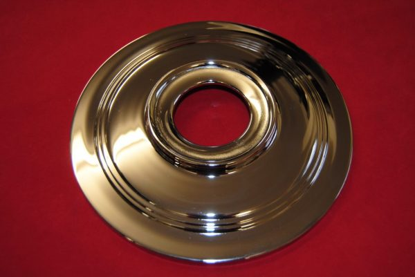 """8"""" diameter plate for 7"""" flanged hub with twin leading Shoe brake"""