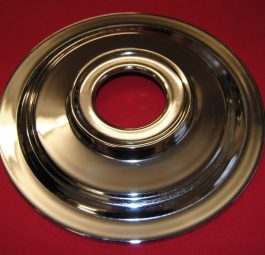 "9"" diameter plate for 8"" flanged hub with twin leading Shoe brake"