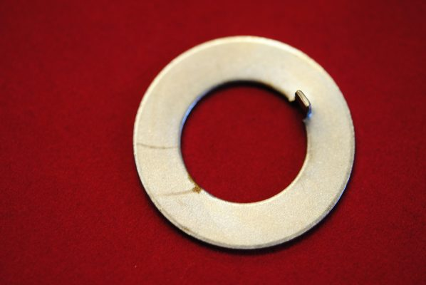 Triumph Tab washer for rotor nut.