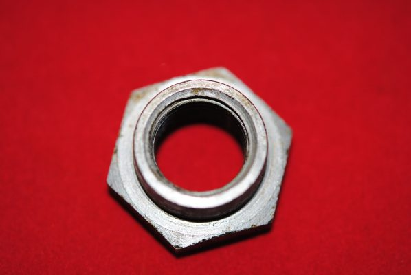 Triumph Rotor nut, 'C' models, '68 on.