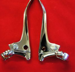 "Handlebar levers 1"" plain ends, no adjusters.  Pair"
