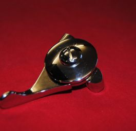 "Magneto lever left hand fitting, 7/8"". English."