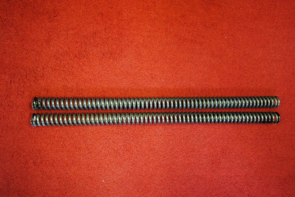 Triumph Fork springs 97-1292 pre-unit, Duplex 6T/T110 – BLACK Per Pair
