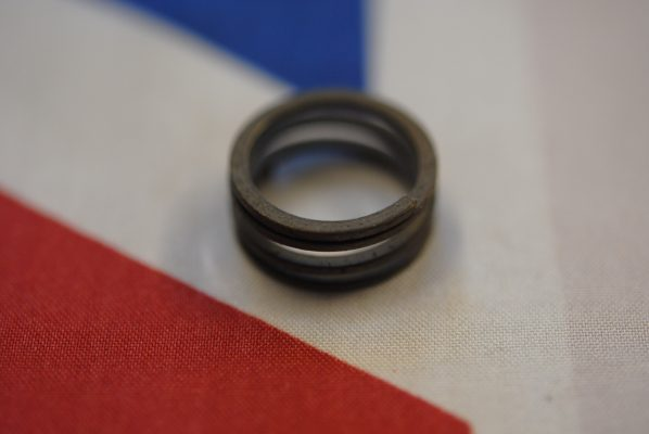 Triumph Spring for rotary breather valve.