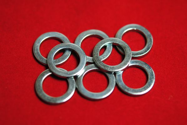 Base washers when required - set of 8