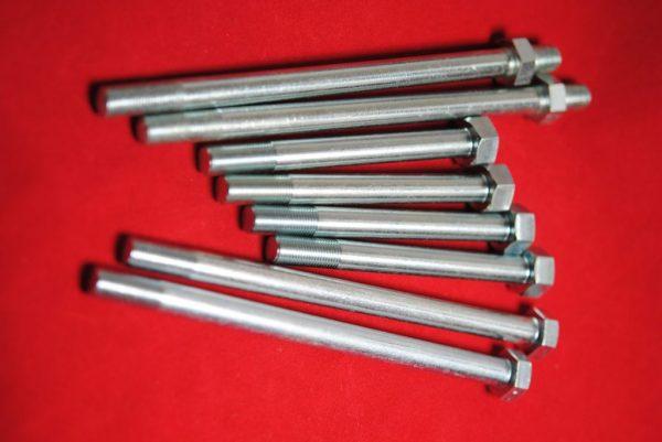 Head bolt set, Pre-unit 500 alloy head.