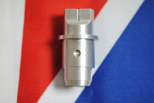 Triumph Pre-unit T100, alloy tappet block, standard measurment 1.000; for alloy barrel. Each.