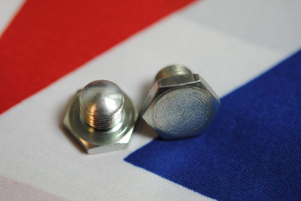 Triumph Screwed blanking plug, on front edge of pre-unit cover