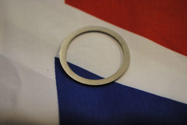 Triumph rear wheel Backing ring