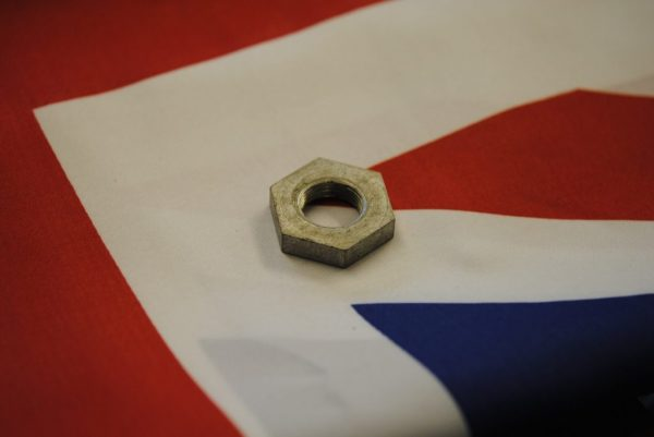 Triumph Bearing sleeve nut, '65 - '69 (with speedo drive).