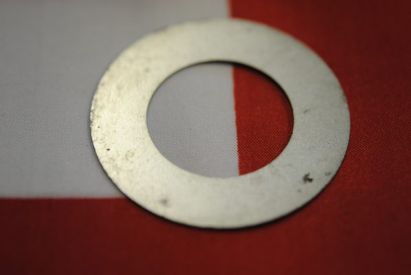 Triumph rear wheel Inner grease retainer, both sides, '64 on