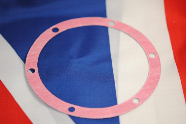 Triumph Cover plate gasket, all unit models