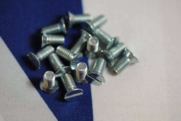 Triumph Screws for gearbox mainshaft cover plate, all unit models, set of 6