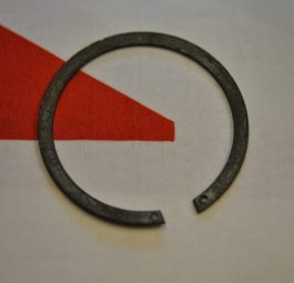 Triumph rear wheel Bearing retaining circlip in sprocket