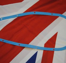 Triumph Chaincase Gasket, rigid pre-unit 'long' dynamo.