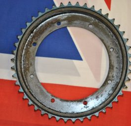 Triumph Sprocket and brakedrum for MKI sprung hub (without bearing housing) New Old Stock 37-0859