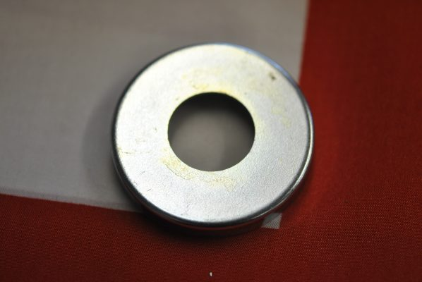 Triumph front wheel Grease retaining washer, left hand side on unit models